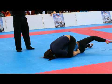 Pan Asian BJJ 2013 No Gi Female Adults Intermediate Absolute Semi Final