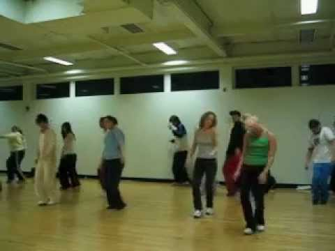 "Tari Mannello Choreography to NORE ""Put em up"" at 24 Hour Fitness Year 2000"