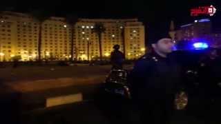 الداخلية تحتفل بالكريسماس على طريقتها في ميدان التحرير