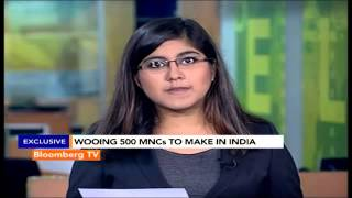 Market Pulse: Wooing 500 MNCs To Make In India - BLOOMBERGUTV