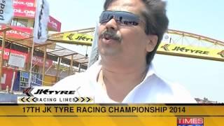17th JK Tyre Racing championship 2014 - TIMESNOWONLINE
