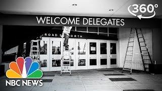 Philadelphia Prepares For The Democratic National Convention | 360 Video | NBC News - NBCNEWS