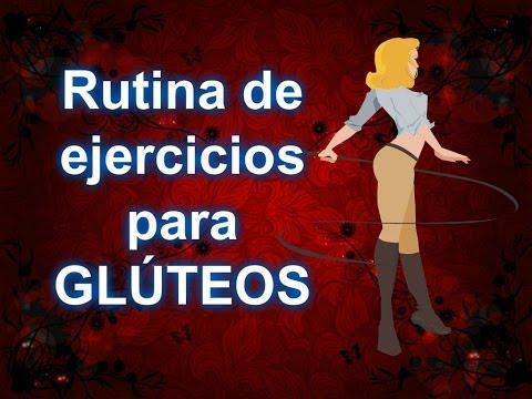 Rutina de ejercicios para GLÚTEOS | levantamiento de gluteos