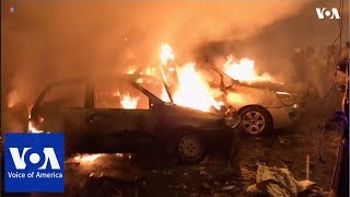 At least 7 killed by car bomb in Benghazi - VOAVIDEO