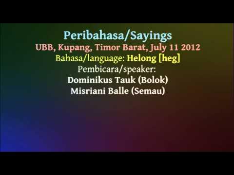 Helong - Sayings
