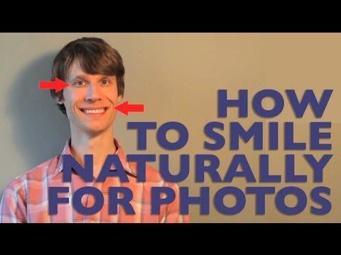 How to Smile Naturally for Photos