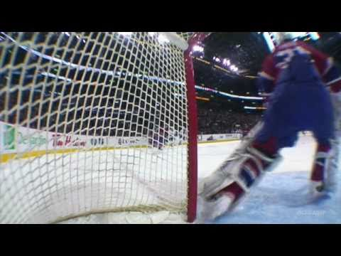 Carey Price save, Glove on Kris Versteeg shot, Wrist, Off. Zone, 27 ft (2010-11-20)