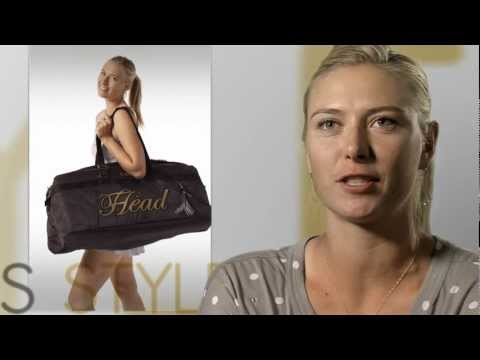 HEAD &amp; Maria Sharapova: Performance Meets Style