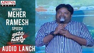 Director Meher Ramesh Speech @ Naa Peru Surya Na Illu India Audio Launch - ADITYAMUSIC