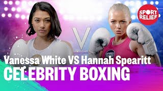 Vanessa White vs Hannah Spearitt | Celebrity Boxing - Sport Relief 2018 - BBC - BBC