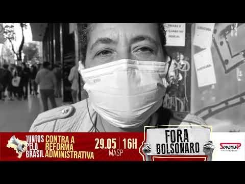 Angela dos Santos, dirigente do SinPsi, reforça chamada para o ato Fora Bolsonaro