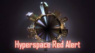 Royalty Free Hyperspace Red Alert:Hyperspace Red Alert