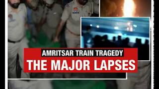 Amritsar Train Tragedy | The major lapses - NEWSXLIVE