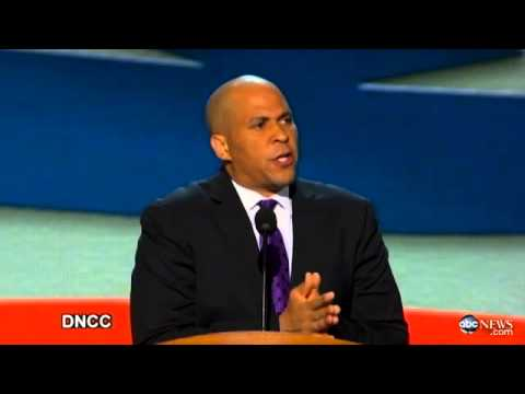 Cory Booker DNC Speech 2012: Fires Up Democratic National Convention, Gets Standing Ovation