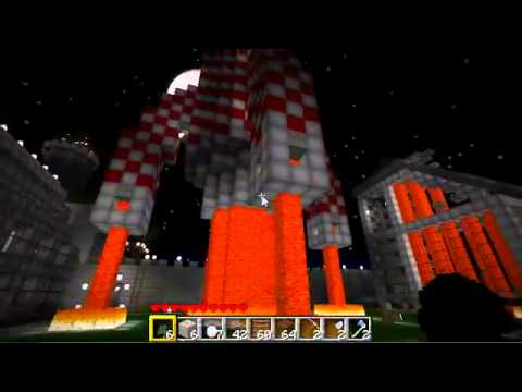 Minecraft Rocket to the moon no voice