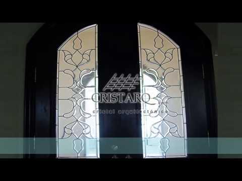 Diseño y fabricación de Vitrales para puertas y Ventanas - CRISTARQ.com