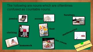 Countable and Uncountable Nouns with Examples