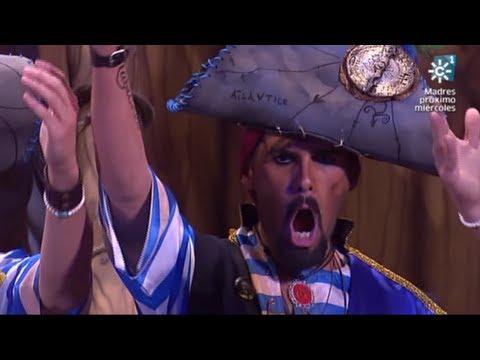 Sesión de Semifinales, la agrupación Los cabrones actúa hoy en la modalidad de Coros.