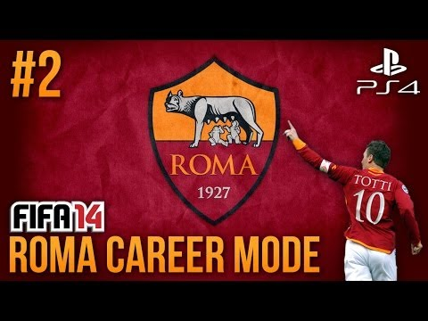Next Gen FIFA 14: AS Roma Career Mode - Episode #2 - MY FIRST MATCH!!!