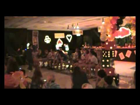 High School All Night Prom Party Funny Teddy Bear and Sleep Gun skit