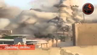 بالفيديو.. لحظة تفجير مرقد النبي شيث