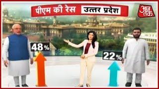 UP में भुआ-भतीजे का गठबंधन देगा Modi-Yogi को टक्कर ? Anjana Om Kashyap का Political Stock Exchange - AAJTAKTV