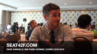 SDCC 2012 -Interview with 666 PARK AVENUE Star Dave Annable