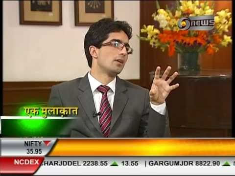 Manoj Tibrewal Aakash Interviewed Dr. Shah Faesal for DD News's Ek Mulaqat (Full Interview)