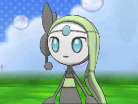 Pokemon Amie: Meloetta!!