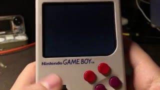 Construir emulador retro con una Game boy y un cartucho