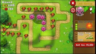 How to beat MOAB Madness BTD5. Game Walkthrough