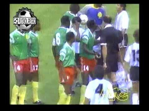 Argentina 0 vs Camerun 1 World Cup Italia 90 FUTBOL RETRO