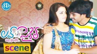 Love Cycle Movie Scenes - Srinivas Fires On Reshma || Shankar Melkote || Jhansi || Sapan Kumar - IDREAMMOVIES