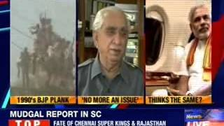 Jaswant Singh: Ram Mandir not an election issue - NEWSXLIVE