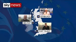 How Brexit will affect people across the nation - SKYNEWS