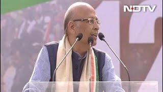 "Aim Of ""Rainbow Alliance"" Is A Secular Government, Says Abhishek Singhvi - NDTV"