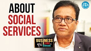 PV Rao About His Social Services || Business Icons With iDream - IDREAMMOVIES