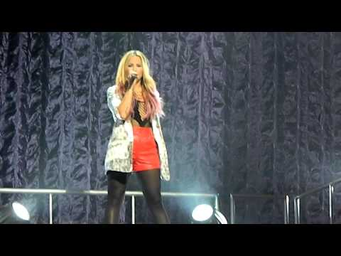 All Night Long - Demi Lovato LIVE at Saratoga Performing Arts Center June 26th, 2012