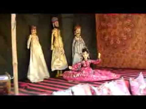 Jaipur Rajasthan puppet show and folk song