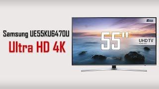 Samsung UE55KU6470U Ultra HD Crystal Colour 4K 2016/2017