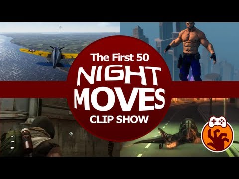 Gaming Highlights Compilation - The First 50 Night Moves Clip Show