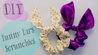 DIY TopShop Bunny Ears Scrunchie {Cute gift Ideas}