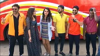 Venky Mama Pre Release Khammam Tour Flag Off Event | EXCLUSIVE VISUALS | Telugu Movie News - TFPC