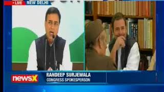 Congress' press briefing: Rahul Gandhi to take over as Congress' President - NEWSXLIVE