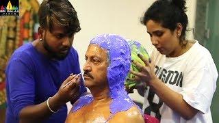 Gayatri - Prosthetic Makeup of Mohan Babu   Latest Telugu Trailers   Vishnu Manchu, Shriya, Anasuya - SRIBALAJIMOVIES