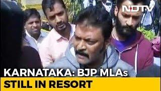 "Karnataka BJP Lawmakers Still At Resort, ""Missing"" Congress MLA Surfaces - NDTV"