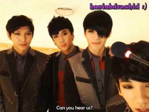 [ENG]131128 The Show Live Chat Recording Site in Kyunghee - VIXX Cut