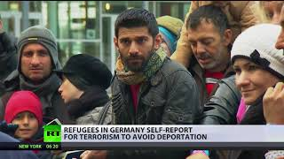 Happy to be arrested: Refugees in Germany & Greece self-report for terrorism to avoid deportation - RUSSIATODAY