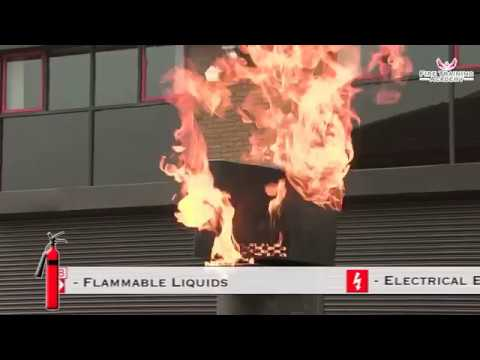 Fire Safety Training - How to Use a CO2 Fire Extinguisher