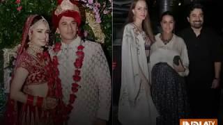 Prince Narula-Yuvika Chaudhary Wedding: Neha Dhupia, Suniel Shetty, Irfan Pathan at the star-studde - INDIATV